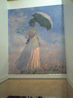 名画壁紙日傘をさす女右向き名画壁紙com世界の名画を壁紙にしま